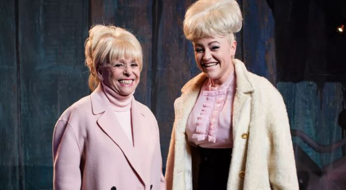 Babs Windsor makes cheeky cameo in BBC biopic about colourful life