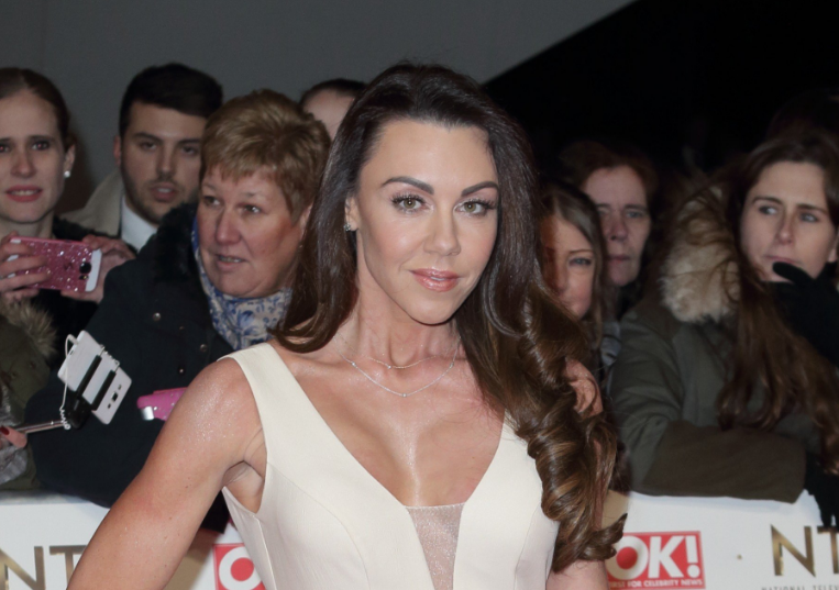 Michelle Heaton 'shaking' as she shows off her surgery scars