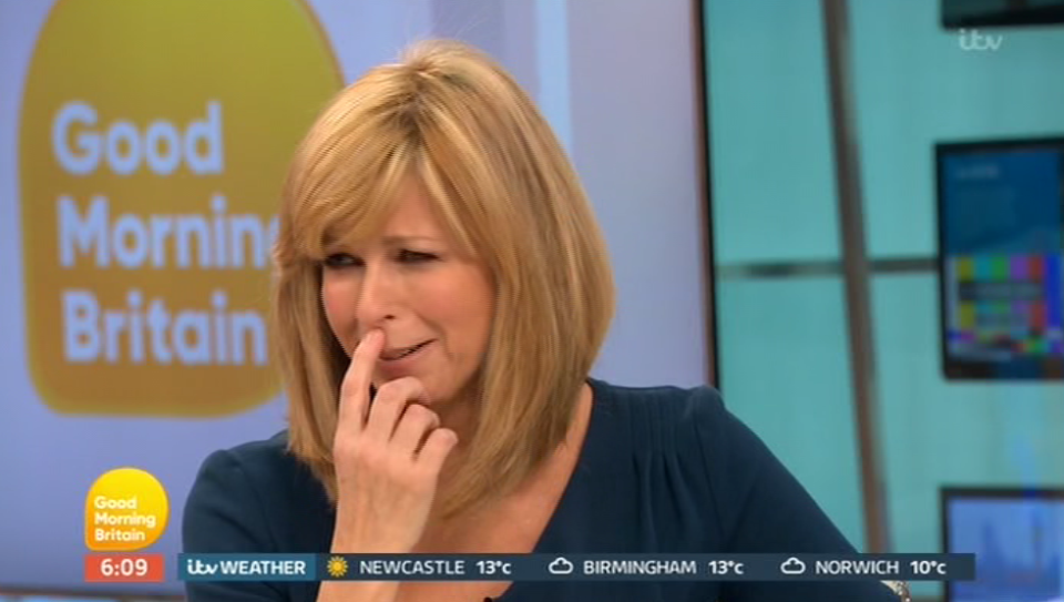Kate Garraway is left squirming at GMB's 50th birthday surprise