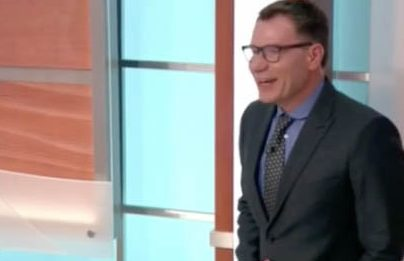 GMB's Richard Arnold suffers hilarious gaffe on live TV