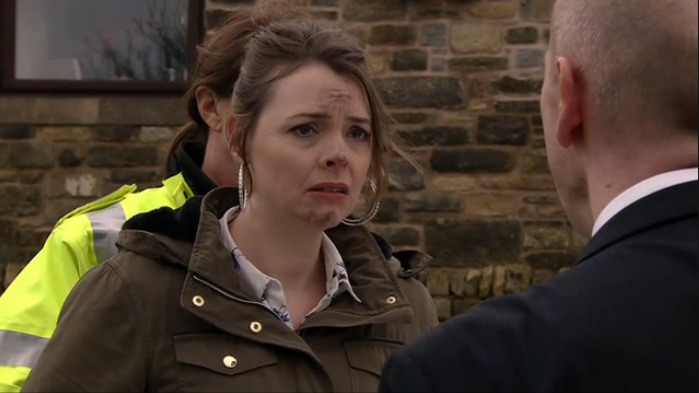 Tracy arrested for the attempted murder of Ken in dramatic ...