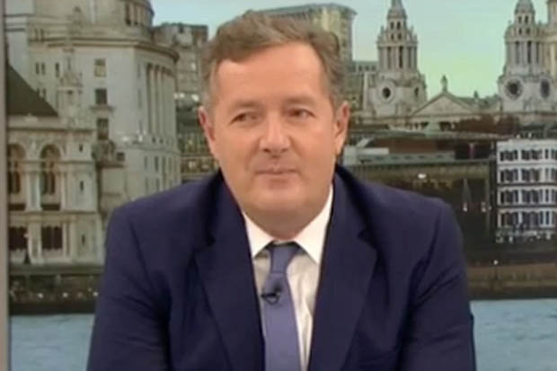 TV legend says he wants Piers Morgan to disappear