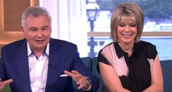 Viewers cringe as Eamonn Holmes shares video of wife Ruth dressed as a dominatrix