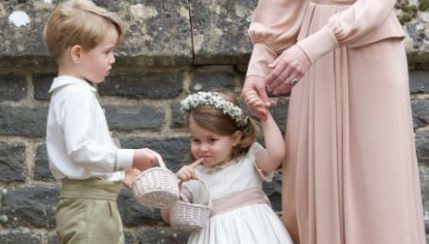 Is this the reason for Prince George's wedding tantrum?