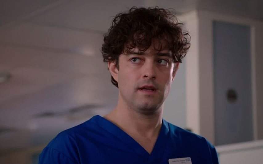 Lee Mead is leaving Holby City
