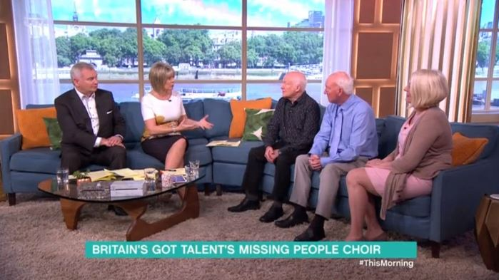 The Missing People Choir move This Morning Viewers