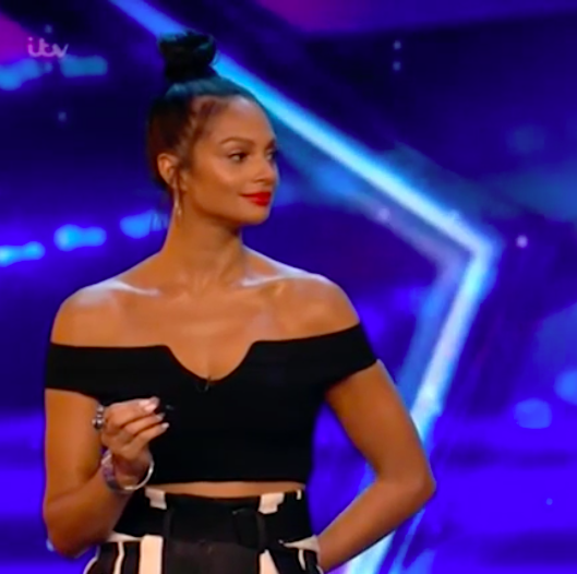 BGT fans confused about what Alesha Dixon has under her trousers