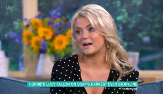 Corrie's Lucy Fallon reveals shocking new twist in Nathan plot