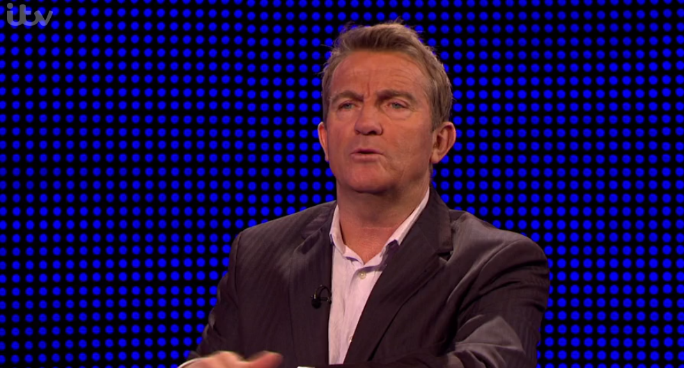 Viewers left stunned by Bradley's reaction to rude answer on The Chase