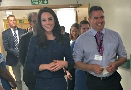 Kate Middleton visits hospital that treated victims of London attack