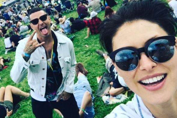 Emma Willis and hubby attend Glastonbury after spending 'months apart'