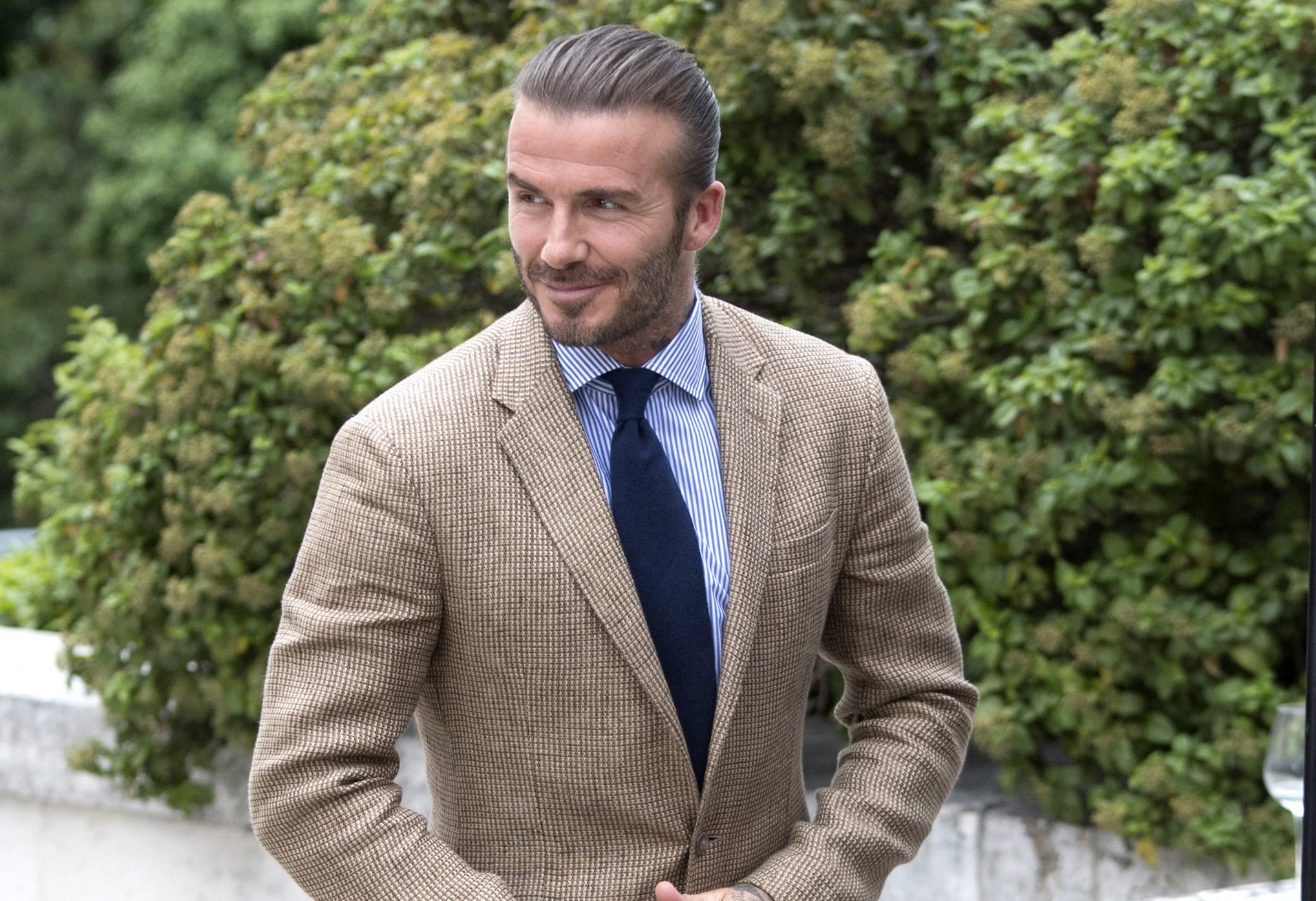 David Beckham reportedly loses it after fan tries to take photo of him at Glastonbury