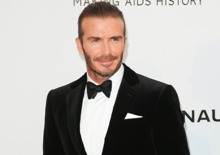 David Beckham praised for 'priceless' photo with daughter Harper