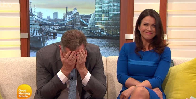 Piers Morgan and Susanna Reid cringe as Honey G's new single is played on GMB
