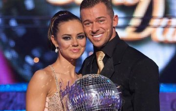 Winning Strictly in 2010 with Kara