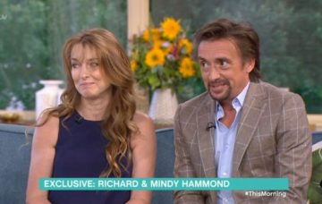 Richard Hammond and wife Mindy