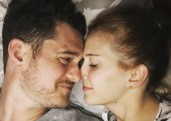 Michael Buble's wife posts sweet photo of son Noah during his cancer recovery