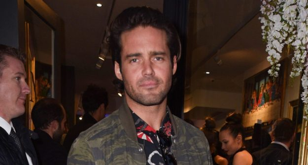 I'm a Celebrity's Spencer Matthews poses for cheeky pic with pregnant wife