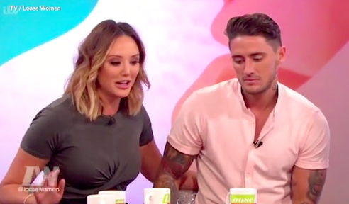 After refusing to EVER appear on Loose Women again, Charlotte Crosby joined the panel today