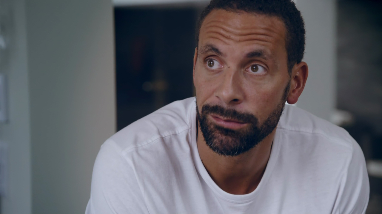Rio Ferdinand breaks down as he reveals what he would say to his wife if they had on more minute together