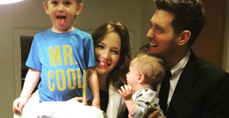 Michael Buble's wife reveals why she flew sick son to America without telling her husband