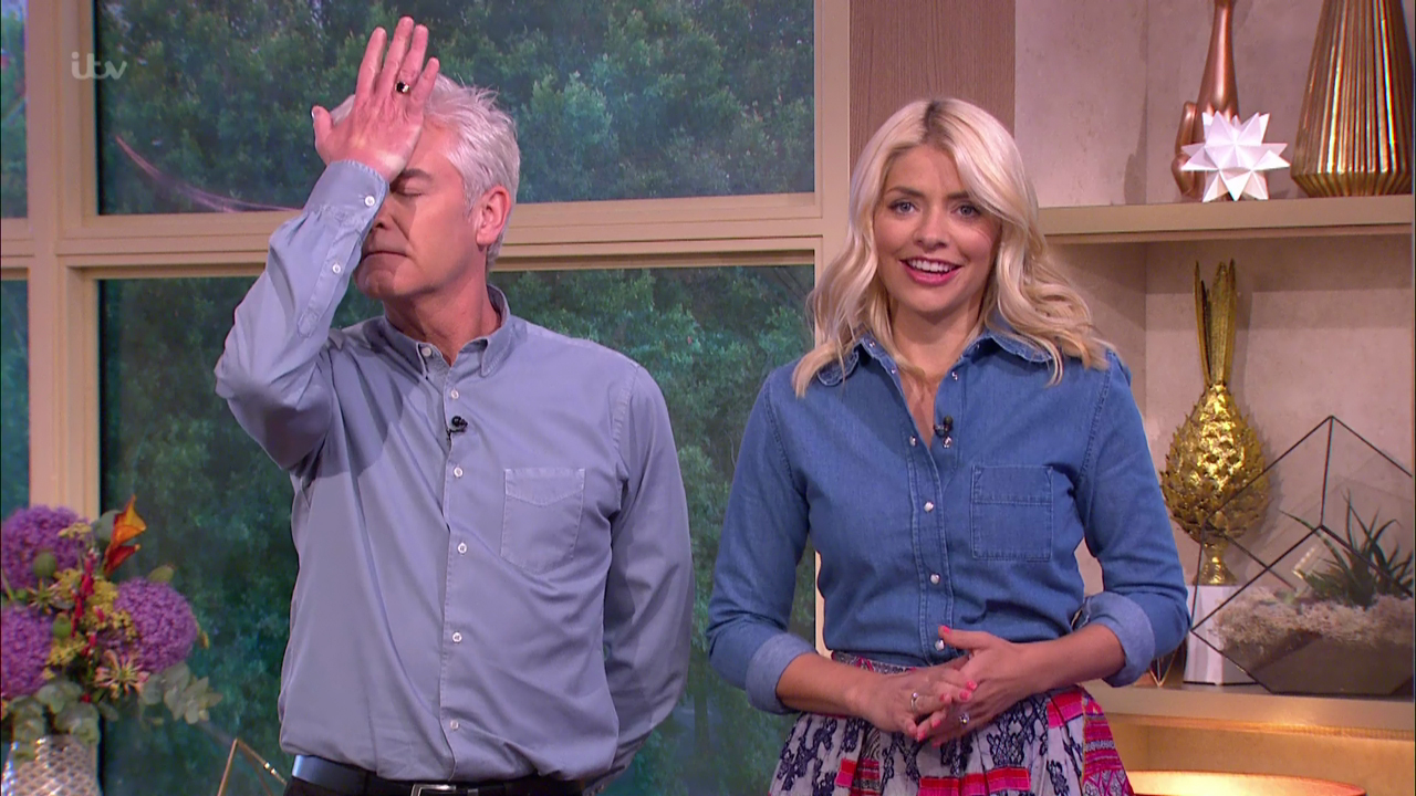 Phillip Schofield shares wild pics of him downing shots - with Holly Willoughby and Bradley Walsh