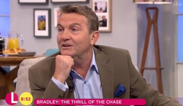 Looks like Bradley Walsh is STILL in trouble for mocking Olympian's name on The Chase