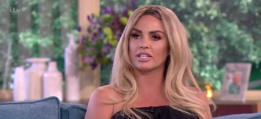 Fans attack Katie Price for posting pic of Princess in a washing machine