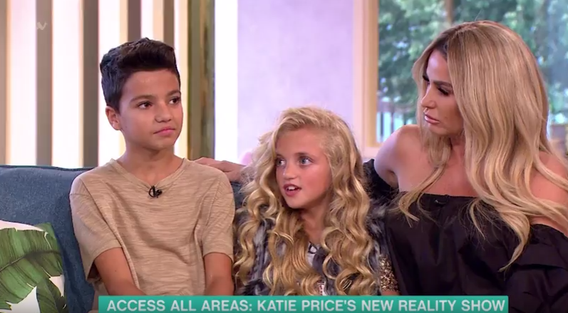 This Morning viewers praise Katie Price as she appears on show with children Junior and Princess