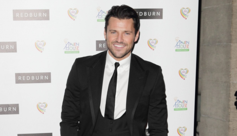 No sign of Michelle Keegan as Mark Wright's family wave him off at the airport