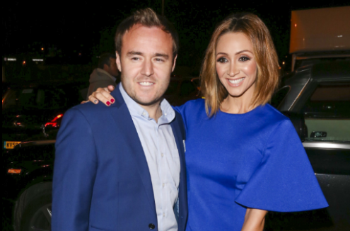 Lucy-Jo Hudson and husband Alan Halsall share pic of daughter on building site of new home