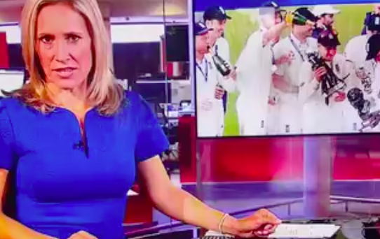 Viewers in shock as boobs are FLASHED on BBC's News At Ten