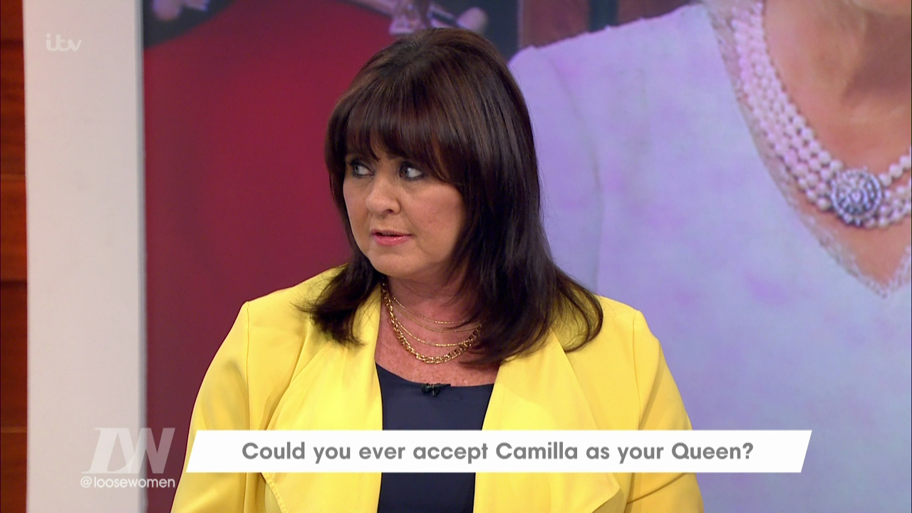 "Coleen Nolan says Camilla will never be Queen as she's ""the other woman"""