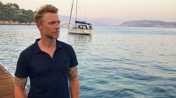 Ronan Keating shares sweetest father-son moment on Greek holiday