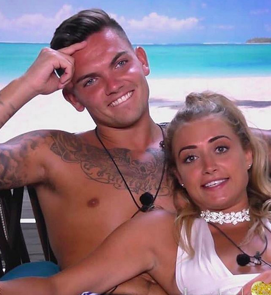Sam Georgia Love Island