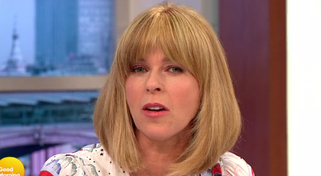 GMB viewers up in arms as Kate Garraway ticks off acting legend for swearing