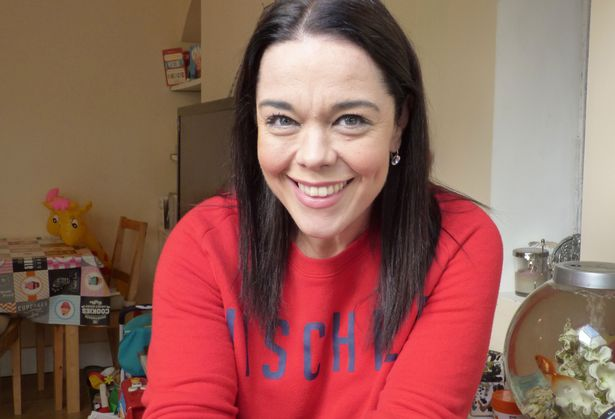 """Lisa Riley strips off to reveal her """"revolting"""" and """"rancid"""" post weight-loss body"""
