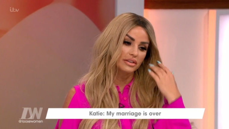 Fans hit out at Katie Price after Loose Women appearance