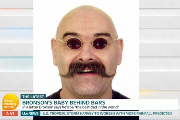 GMB viewers outraged as Charles Bronson's fiancée admits baby plans with the prisoner