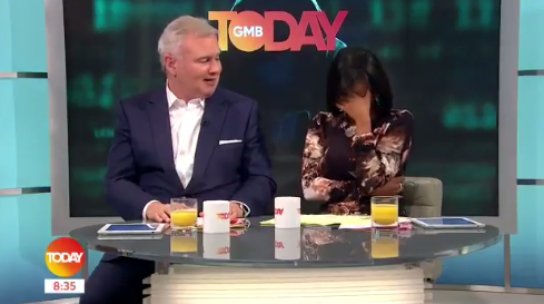 Eamonn Holmes makes cheeky jibe about wife Ruth Langsford's body as she prepares for Strictly