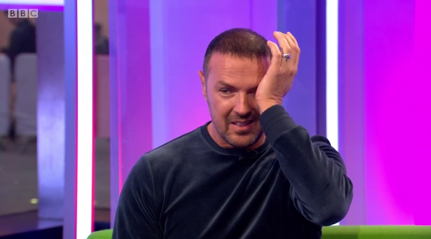 Paddy McGuinness breaks down on The One Show after receiving touching gift from girl with Cerebral Palsy