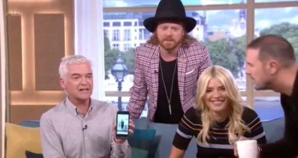 Holly Willoughy ridiculed by Paddy McGuinness and Keith Lemon over Instagram posing blunder