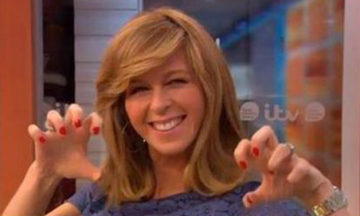 Viewers cringe as Kate Garraway embarrasses herself (and her kids!) on air again