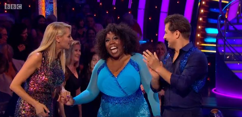 Strictly star suffers wardrobe malfunction on first night