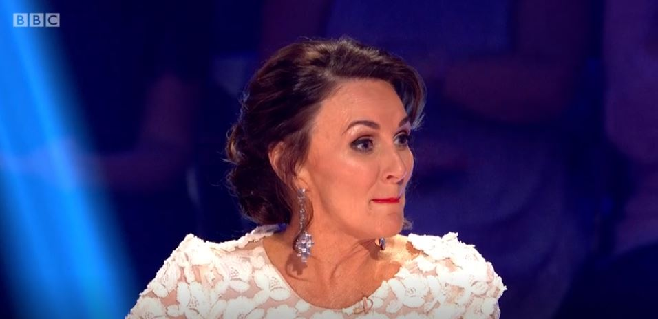 Strictly judge Shirley Ballas tears up as celebrity messes up routine