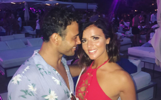 Ryan Thomas and girlfriend Lucy Mecklenburgh enjoy day out with his daughter Scarlett