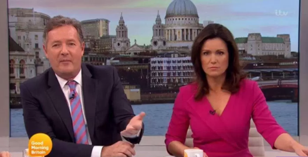 Piers Morgan sends chilling threat to Lord Sugar on Good Morning Britain
