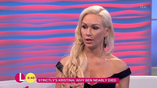 Strictly's Kristina Rihanoff opens up about Ben Cohen's horrific near-death experience