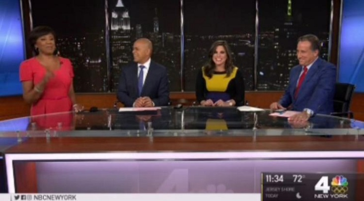 New York News Anchor Goes Into Labor Live On-Air