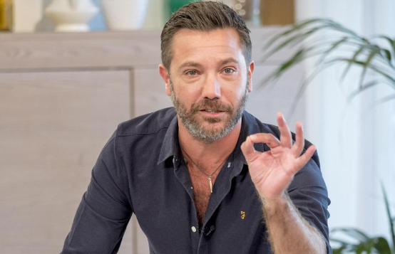 Gino D'Acampo turns This Morning blue as he debuts his new beard